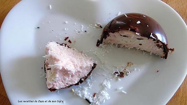 Dômes au Chocolat au Lait et Guimauve
