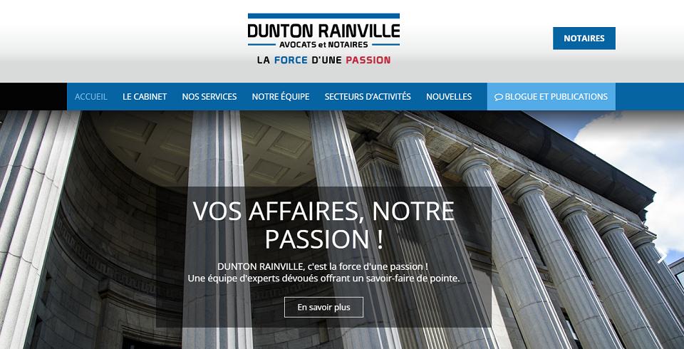 Dunton Rainville Avocats et Notaires en Ligne