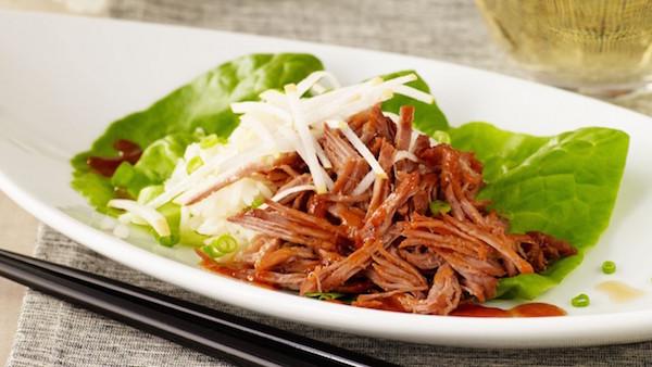 Échine de Porc Façon BBQ Coréen