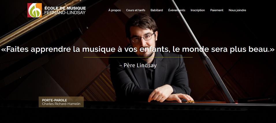 École de Musique Fernand-Lindsay en Ligne