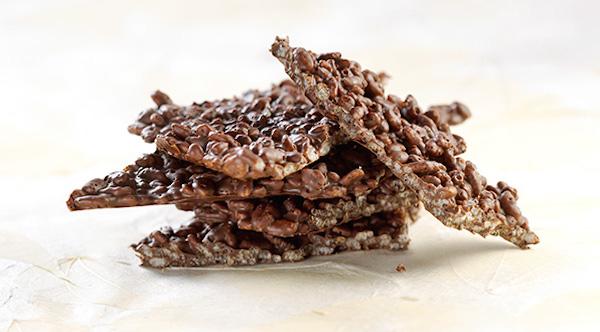 Écorce aux Rice Krispies et au Chocolat