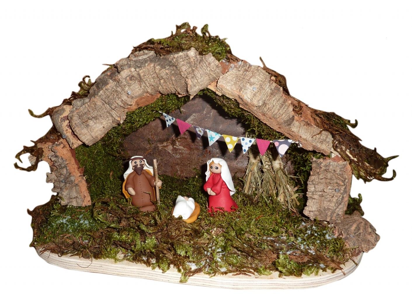 Fabriquez votre Crèche de Noël en Famille