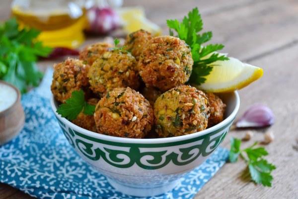 Photo Recette Falafel (croquettes de pois chiches)