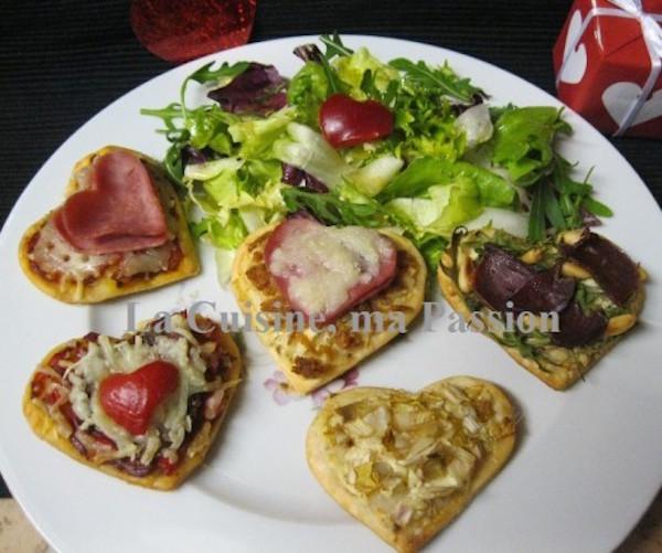 Farandole de Minis Pizza en ♥♥♥