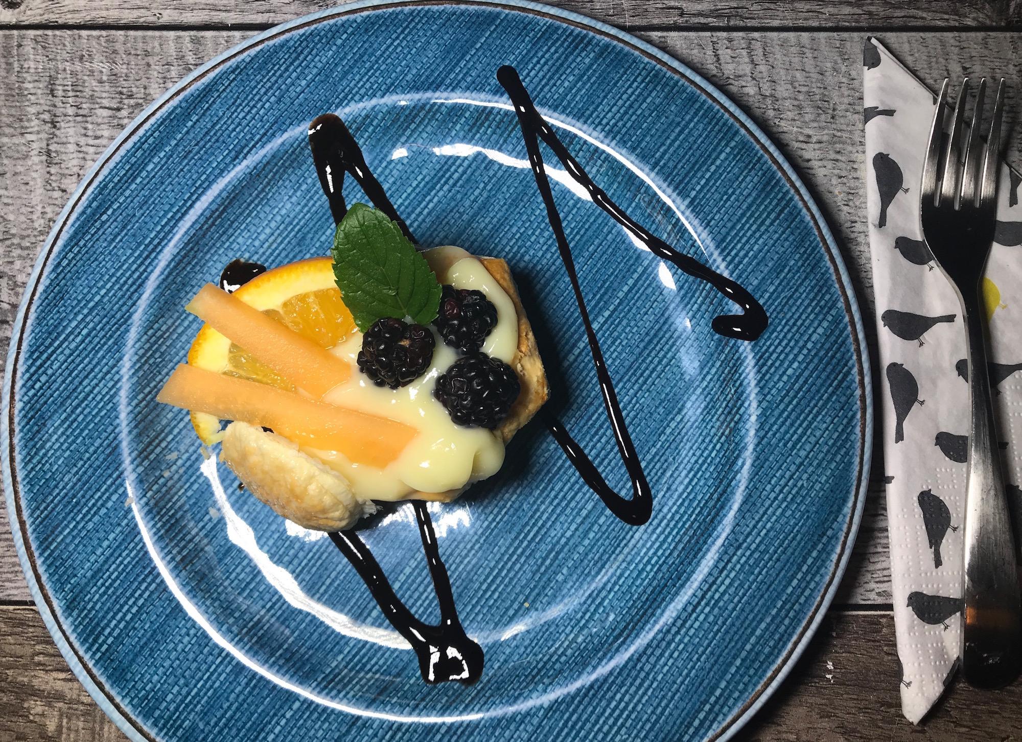Photo Recette Feuilleté à la Pouding Vanille et Petits Fruits