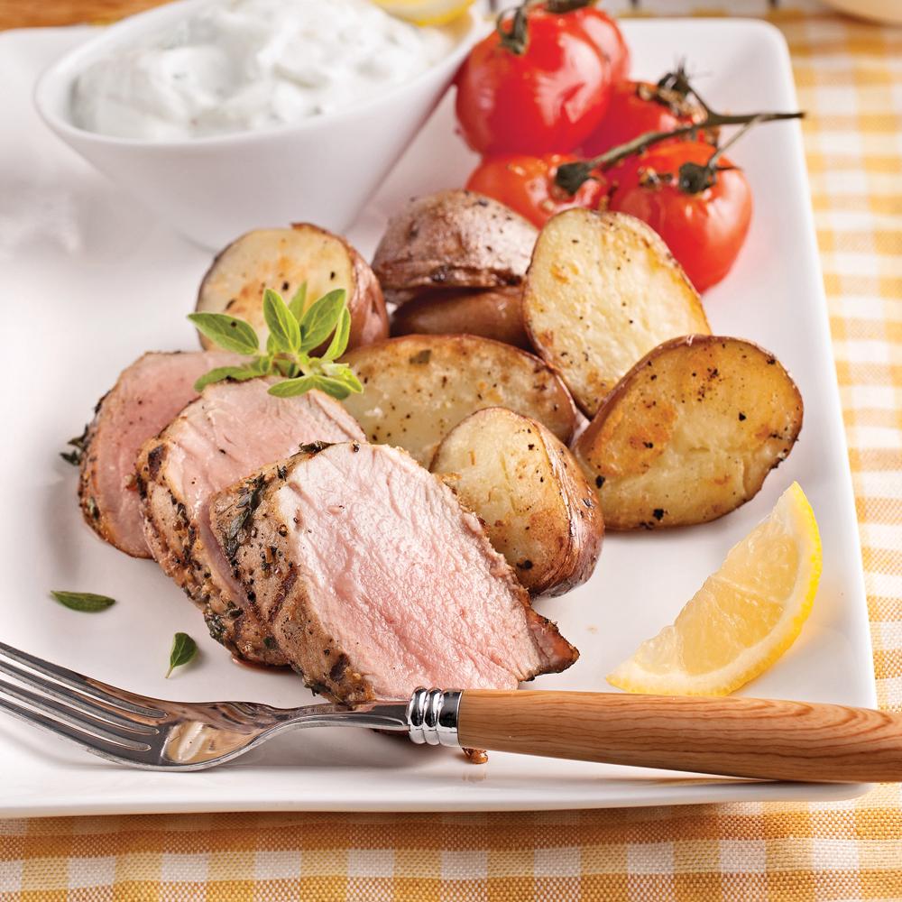 Photo Recette Filet de Porc à la Grecque