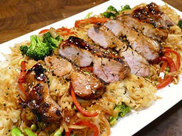 Filet de Porc Grillé au BBQ à la Chinoise