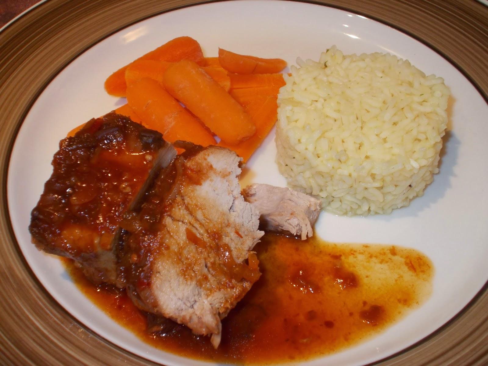Photo Recette Filet de Porc à la Marie-Jue (Mijoteuse)