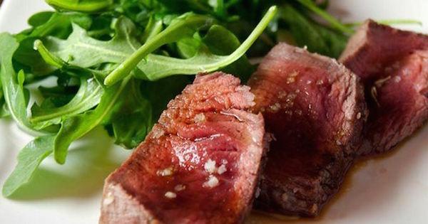 Filet Mignon au Gros Sel et Vinaigre Balsamique