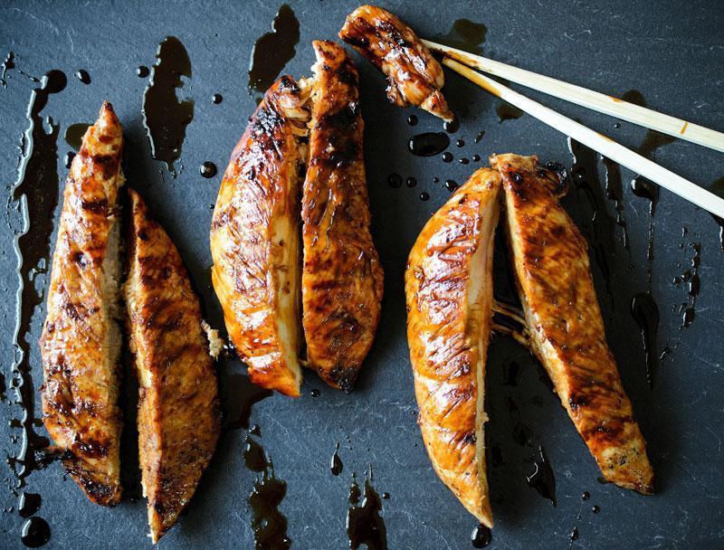 Filets de Dindon BBQ