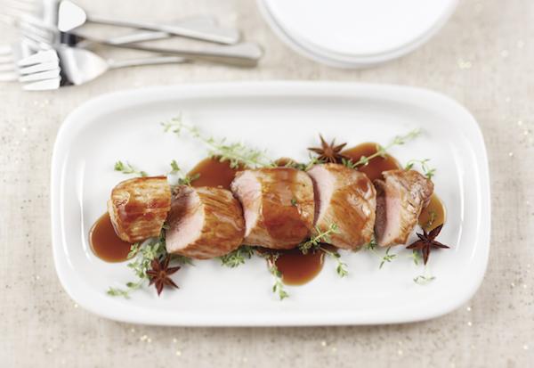 Filets de Porc à L'érable et à L'anis Étoilé
