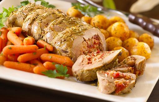 Photo Recette Filets de Porc Farcis à L'italienne