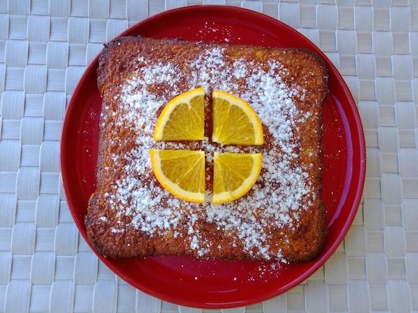 Fondant à L'orange Sans Gluten