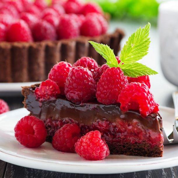Photo Recette Fondant au Chocolat Coeur Fruits Rouges Facile