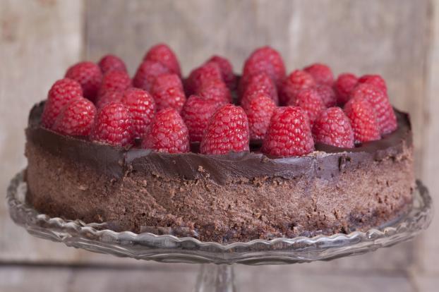Fondant au Chocolat Noir et aux Framboises