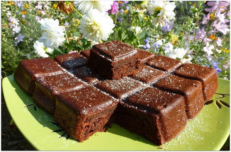 Photo Recette Fondant Courgette Chocolat Savoureux