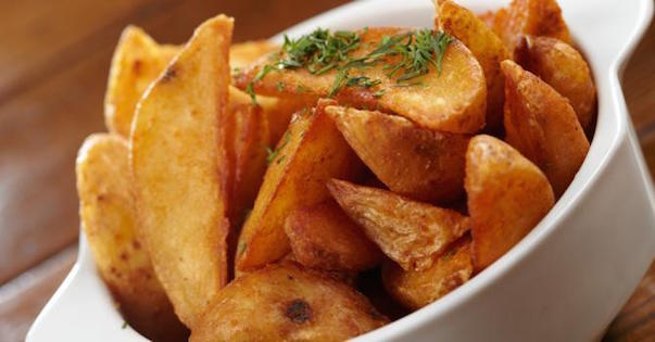 Frites Patates Épicées sans Sel Cuites au Four