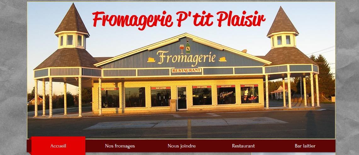 Fromagerie P'tit Plaisir en Ligne