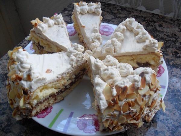 Gâteau à la Crème Cappucchino