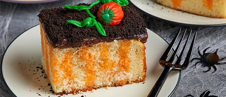 Gâteau à Trous « Citrouille »
