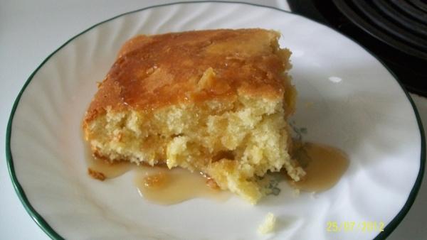 Gâteau au Blé D'inde Cru