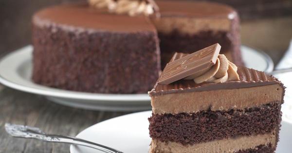 Gâteau au Chocolat avec Fondant très Chocolat