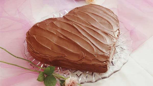 Photo Recette Gâteau au Chocolat en Forme de Coeur