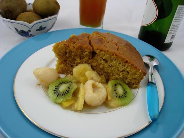 Gâteau au Yaourt à la Grecque