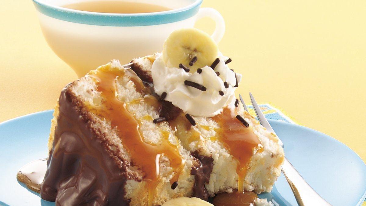 Photo Recette Gâteau aux Bananes Chocolat et Caramel