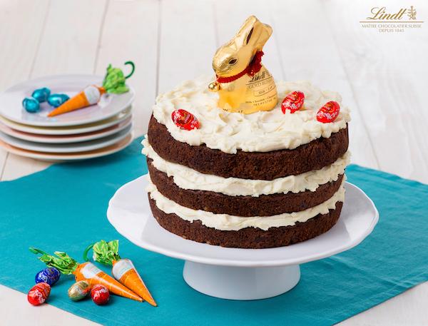 Gâteau aux Carottes et au Chocolat de Pâques