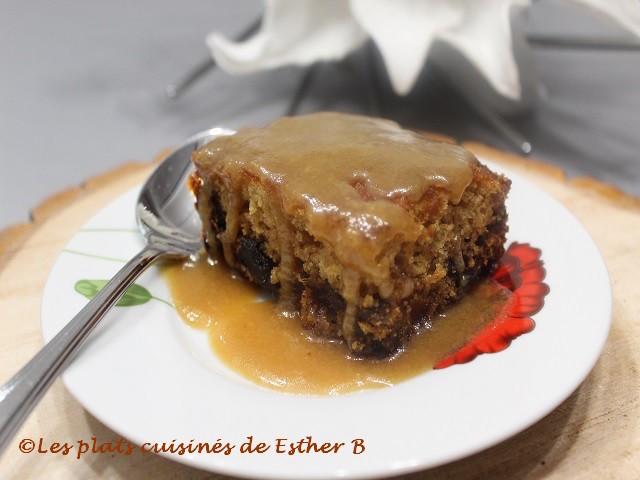 Photo Recette Gâteau aux Dattes, Sauce Caramel