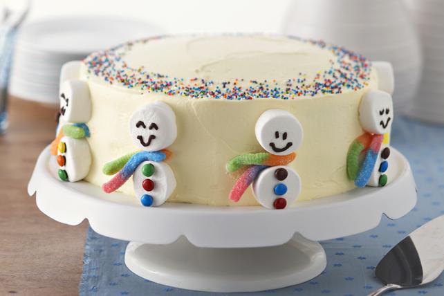 Gâteau Bonhommes de Neige