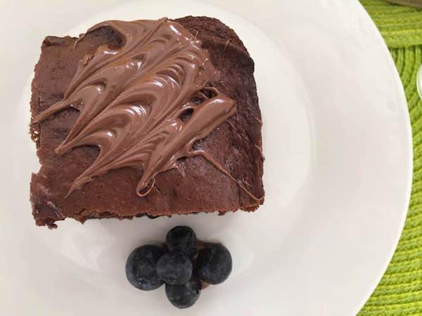 Gâteau Chocolat et Bleuets 1