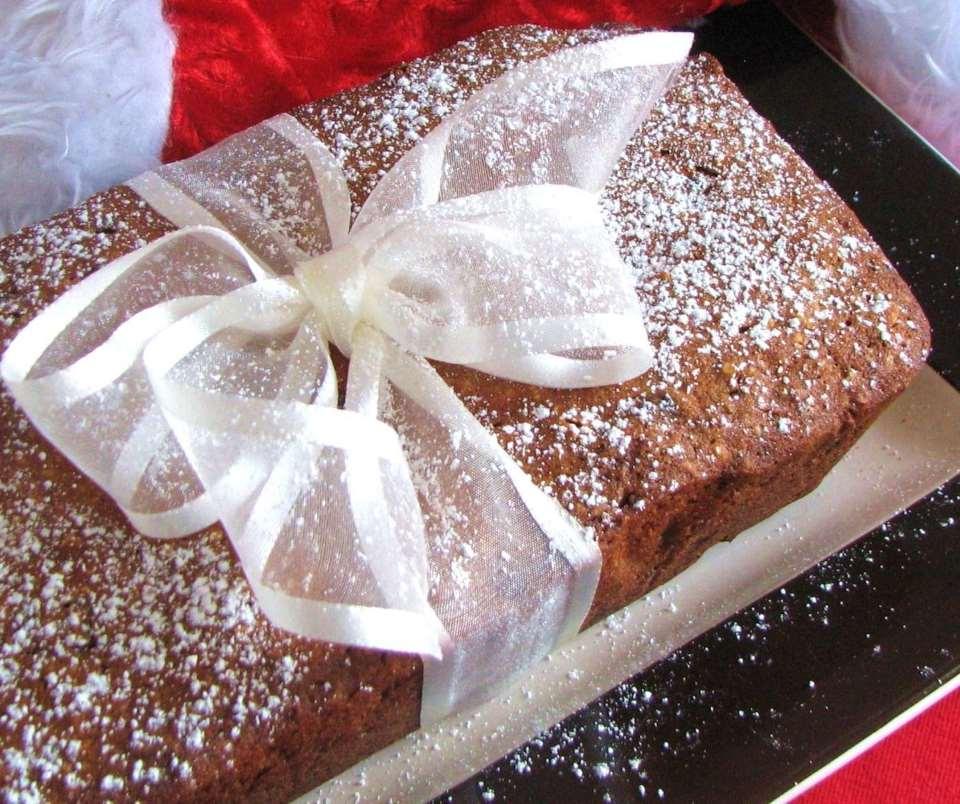 Photo Recette Gâteau de Noël aux Cerises