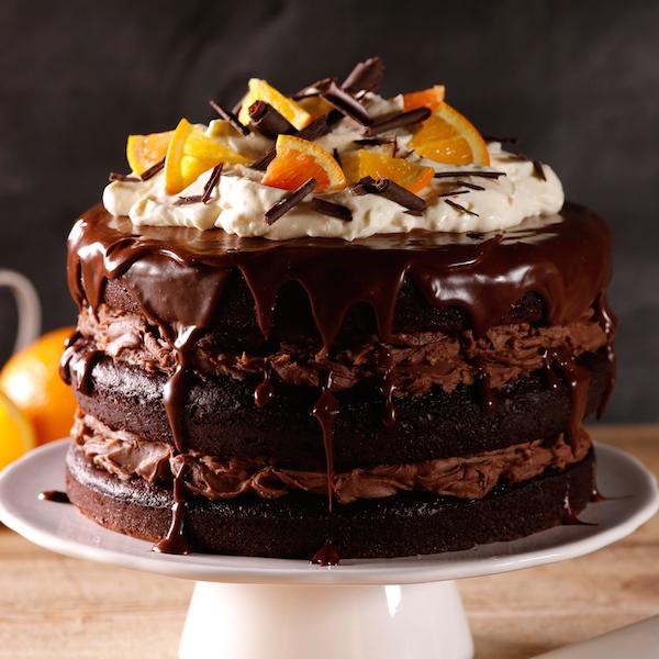 Gâteau Décadent au Chocolat et à L'orange