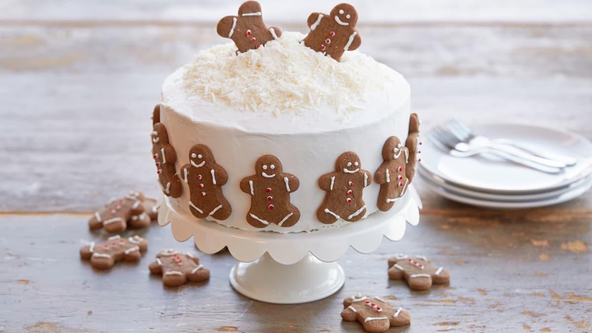Gâteau des Fêtes aux Biscuits en Pain D'épice