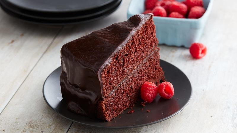 Gâteau Facile aux Courgettes et à la Ganache au Chocolat