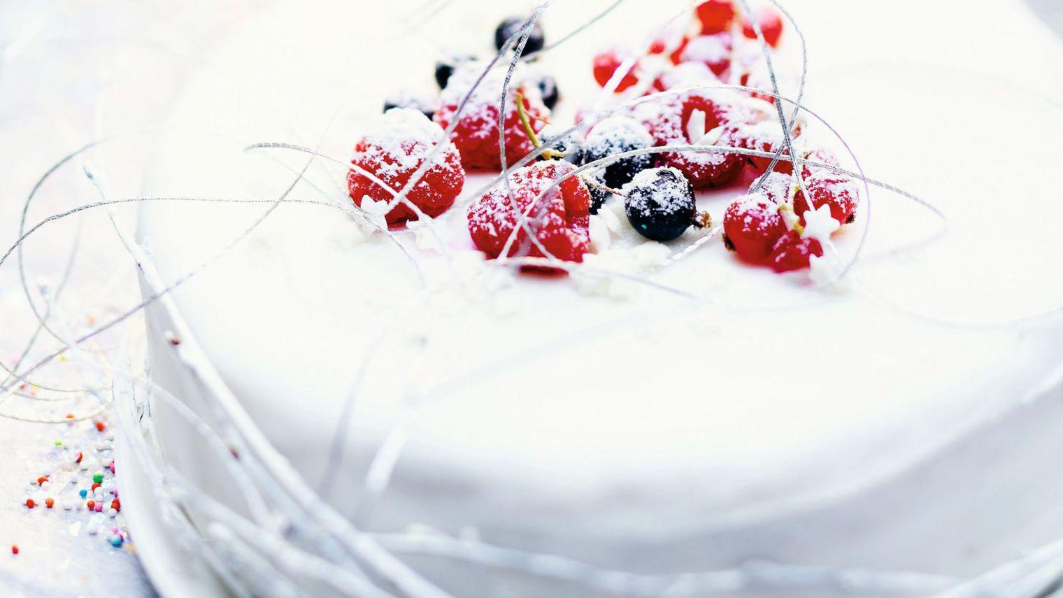Photo Recette Gâteau Givré aux Fruits Rouges