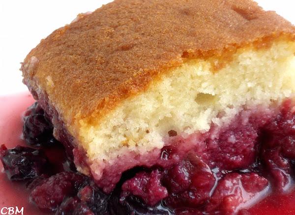 Gâteau Jeannette Renversé Petits Fruits et Rhubarbe