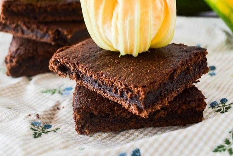 Photo Recette Gâteau Léger au Chocolat et à la Courgette