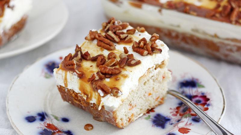 Photo Recette Gâteau Piqué aux Carottes et au Caramel