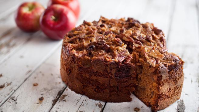 Gâteau Pommes et Épeautre