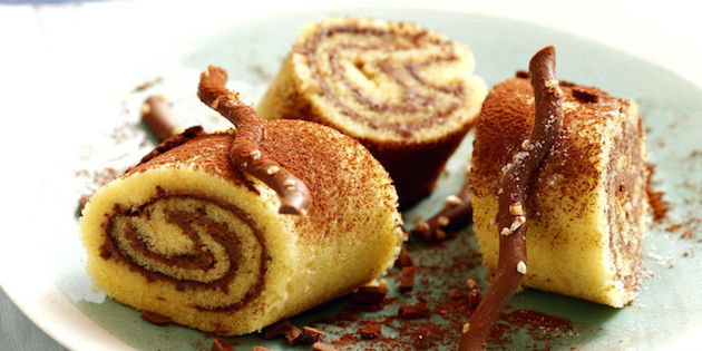 Photo Recette Gâteau Roulé au Nutella