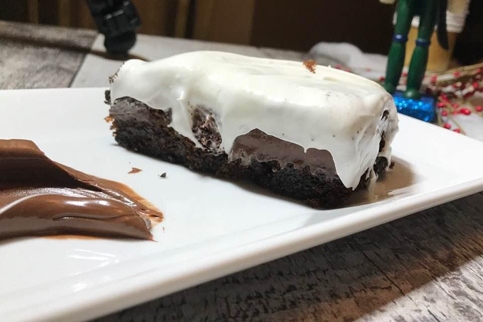 Gâteau Oréo et Pouding Chocolat