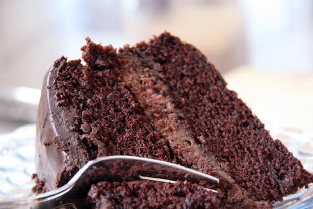 Photo Recette Gâteau au Chocolat et Mousse Choco-Framboise