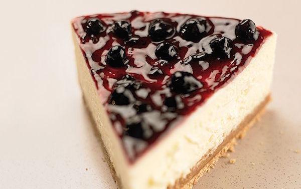 Gâteau au Fromage au Miel et Compote de Bleuets