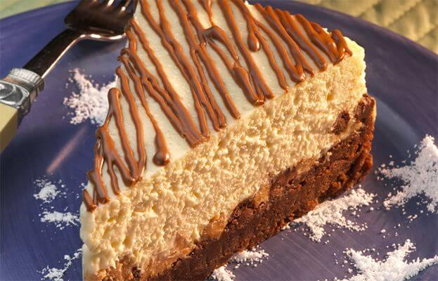 Photo Recette Gâteau Au Fromage Avec Beurre D'arachides Et Grains De Chocolat