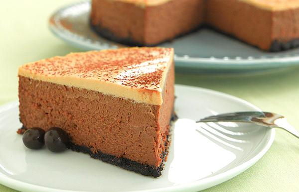 Gâteau au Fromage Moka Décadent