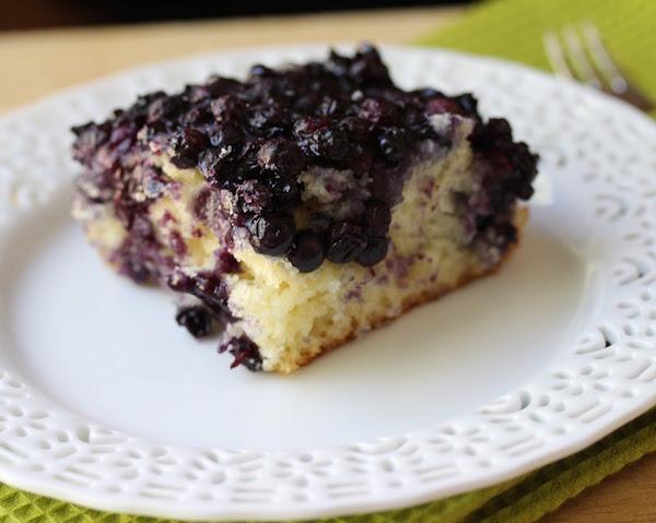 Gâteau aux Bleuets (myrtilles) à L'ancienne