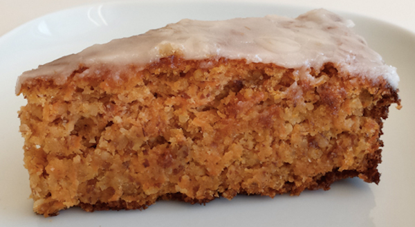 Gâteau aux Carottes (sans gluten)